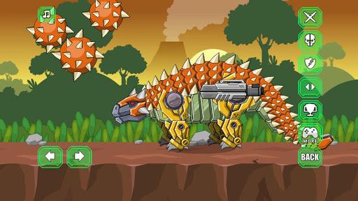 Robot Ankylosaurus Toy War screenshots 4