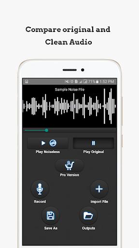 Mp3, MP4, WAV Audio Video Noise Reducer, Converter 0.6.1 Screenshots 5