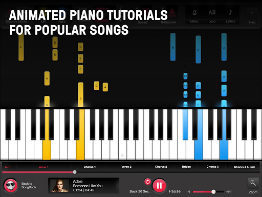 OnlinePianist - Free Piano Lessons for Songs  Screenshots 6