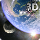 Earth & Moon in HD Gyro 3D Parallax Live Wallpaper - Androidアプリ