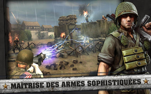 FRONTLINE COMMANDO: D-DAY APK MOD screenshots 3
