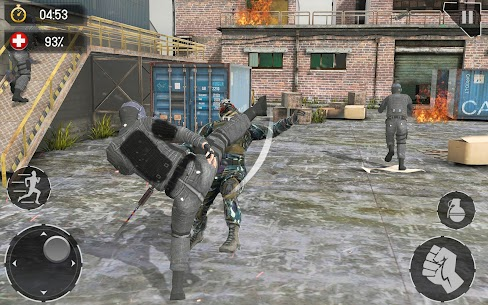 Real Commando Fire Ops Mission Mod Apk (Unlimited Money) 3