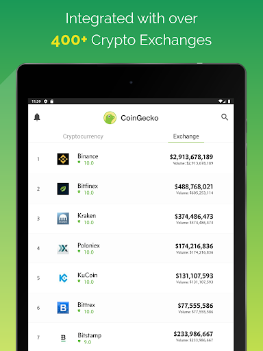 CoinGeckou00a0- Bitcoin & Cryptocurrency Price Tracker Apkfinish screenshots 11