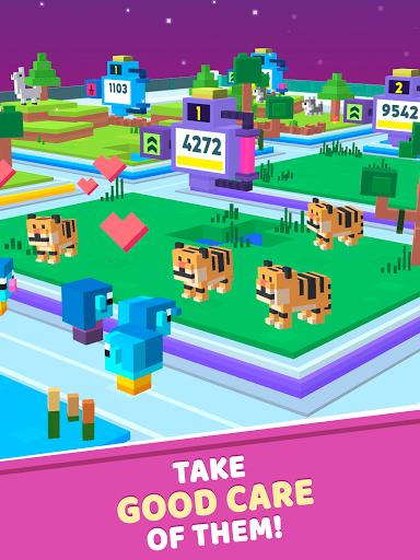 Idle Star Zoo: Universe Animals Merge Tycoon  screenshots 8
