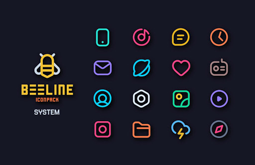 Download APK: BeeLine Icon Pack v2.1 [Patched]