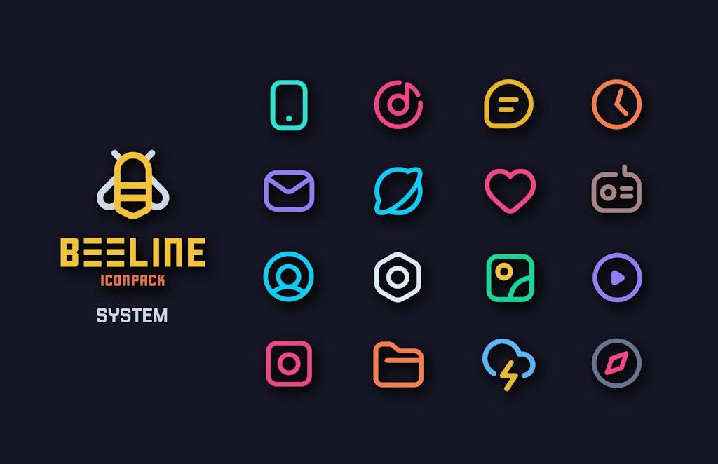 BeeLine Icon Pack  poster 0