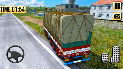 Indian Truck Simulator 2021: New Lorry Truck Games apkpoly screenshots 9