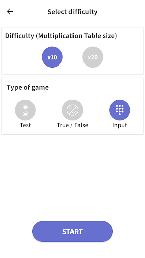 Multiplication table - learn easily, Times Tables 1.2.8 screenshots 5