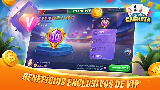 Cacheta ZingPlay: Jogo de cartas online gru00e1tis 1.1 screenshots 18