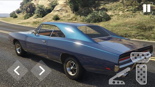 Speed Dodge Charger Classic Racing screenshots 3