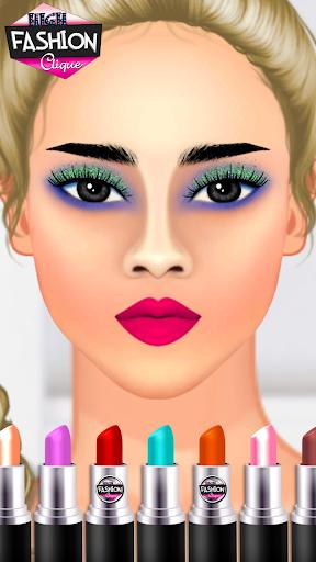 High Fashion Clique - Dress up & Makeup Game  screenshots 7
