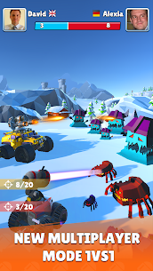 Battle Cars: Monster Hunter Mod Apk 2.3 (Free Shopping) 2