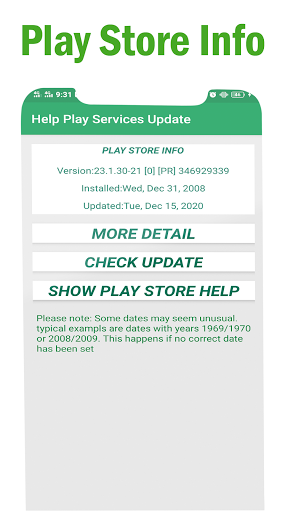Play Services Errors Help 2021-Fix Play Store Info 1.0.2 screenshots 7