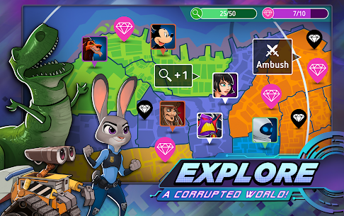 Disney Heroes: Battle Mode Mod 2.6.11 Apk [Unlimited Money] 5