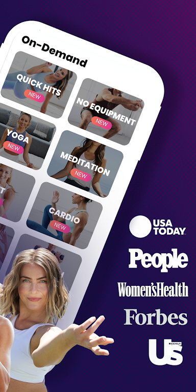 FitOn - Free Fitness Workouts & Personalized Plans  poster 1