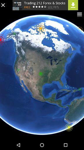 Quake & Volcanoes: 3D Globe of Volcanic Eruptions  Screenshots 4