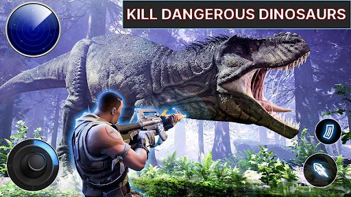 Dino Hunter - Wild Jurassic Hunting Expedition Apkfinish screenshots 5