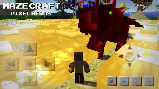 Maze Craft : Pixel Heroes screenshots 1