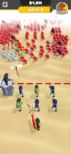Idle Army modiapk screenshots 1