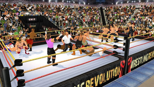 Wrestling Revolution 3D screenshots 5