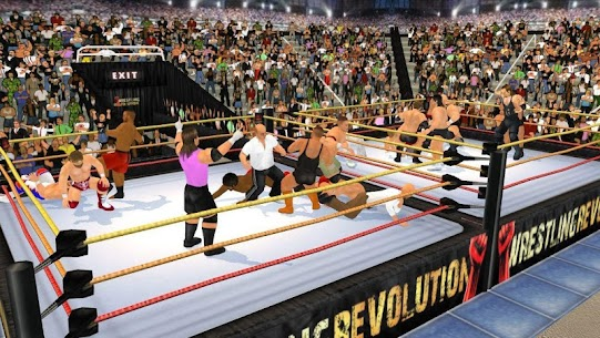 Wrestling Revolution 3D Mod APK (Unlocked Everything) 5