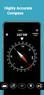 Real Compass – Smart digital Compass App For Android 5