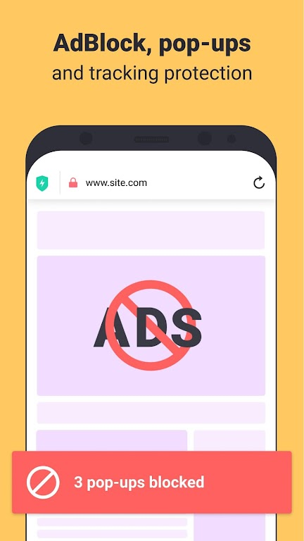 Aloha Browser Turbo - private browser + free VPN poster 1