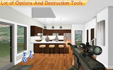 家を破壊する-インテリアを壊すホーム無料ゲームのおすすめ画像1