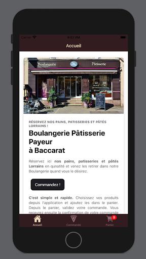 Boulangerie Pu00e2tisserie Payeur 1.4.0 screenshots 1