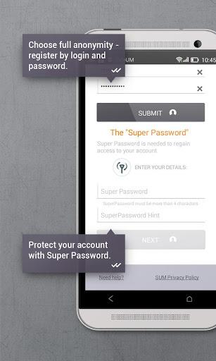 Secure messenger SafeUM 1.1.0.1548 Screenshots 3