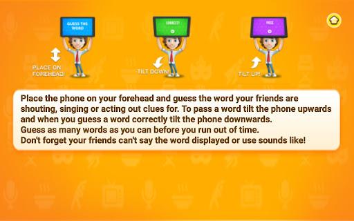 Charades Guess the Word 2.0 screenshots 10