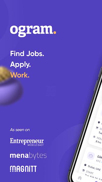 Ogram – Find Part Time Jobs