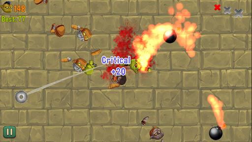 orcs vs blades : smash monsters screenshot 3