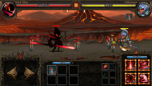 Télécharger Epic Heroes War: Action + RPG + Strategy + PvP mod apk screenshots 1