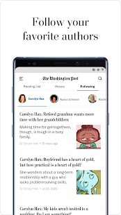 The Washington Post Screenshot