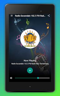 Radio Escandalo 102.5 FM Radio Dominican Republic