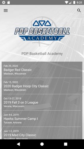 pdp basketball academy screenshot 1