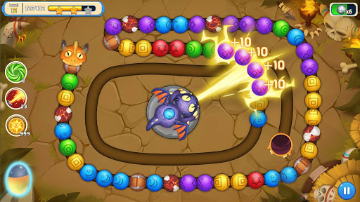 Jungle Marble Blast 3 1.0.9 screenshots 9