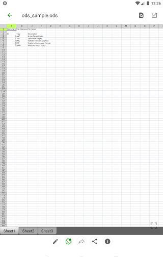 Open Office Viewer - Open Doc Format & PDF Reader apktram screenshots 12
