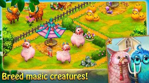 Charm Farm: Village Games. Magic Forest Adventure. 1.143.0 screenshots 11