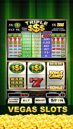 Triple Gold Dollars Slots Free screenshots 1