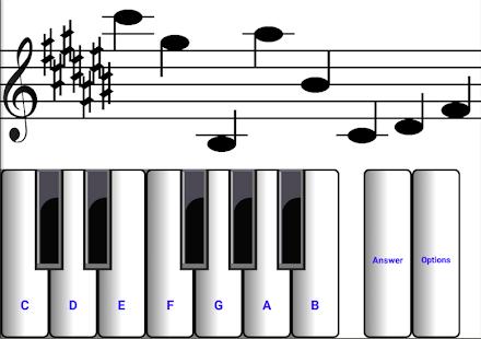 (light) learn sight read music notes piano tutor 7.0.3 Screenshots 3