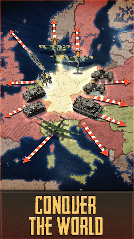 Call of War - WW2 Multiplayer Strategy Game poster 0