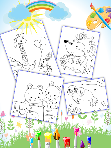 Coloring Book for Kids: Animal apkmr screenshots 7