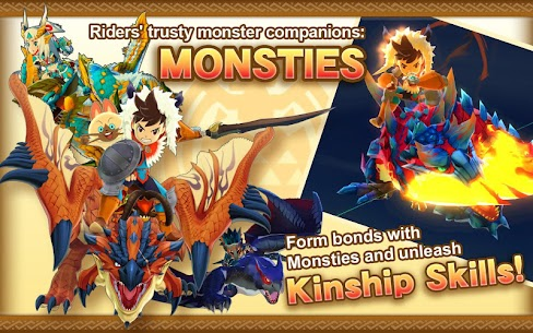Monster Hunter Stories Mod Apk (Unlimited money) 8