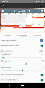 Calendar Widgets Premium Apk: Month Agenda calendar (Paid Features Unlocked) 6