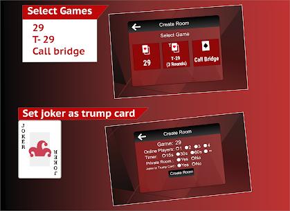 29 Card Online Call Bridge Multiplayer 28 Card 124 Android Mod APK 1