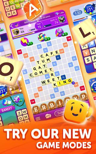 Scrabbleu00ae GO - New Word Game Apkfinish screenshots 8