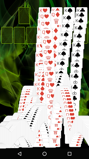 Spider Solitaire (Web rules)  screenshots 2