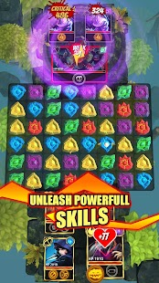 Heroes of Elements: Match 3 RPG Puzzles Battle Screenshot